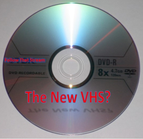 Is DVD the new VHS?